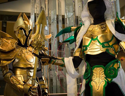 Cosplay Armor From Metallic Fabric Featured Jpg