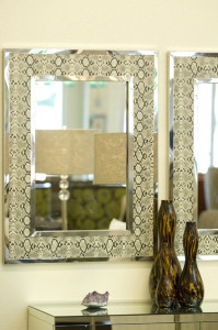 diy-snakeskin-mirror