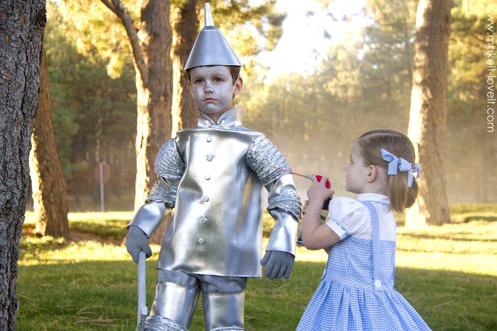 Diy tin man costume kids tin man costume tutorialg solutioingenieria Images