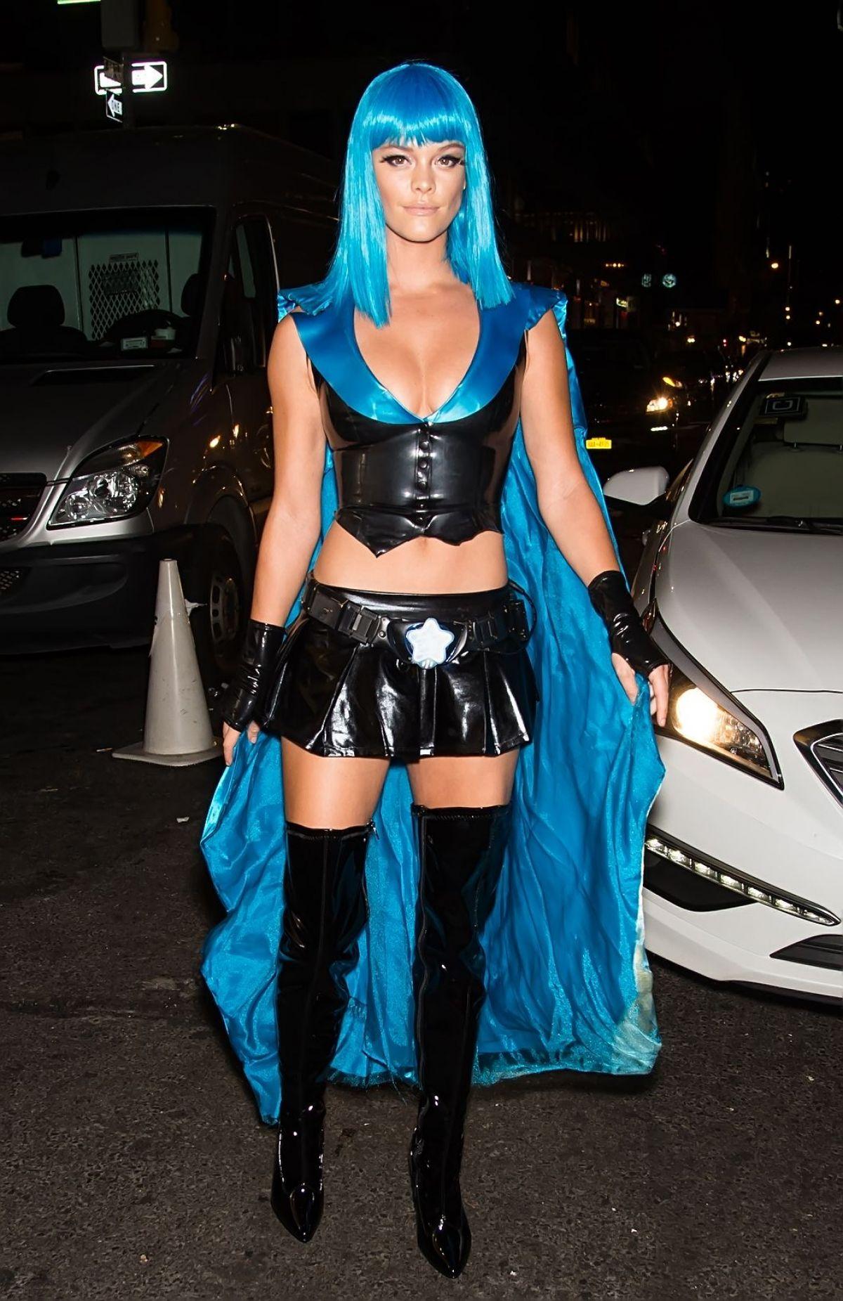 celebrity-latex-halloween-costume-nina-agdal