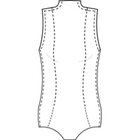 womens bodysuit pattern
