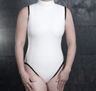 DIY custom measurement womens bodysuit pattern thumbnail image.