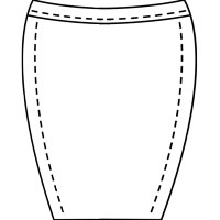 womens pencil skirt pattern