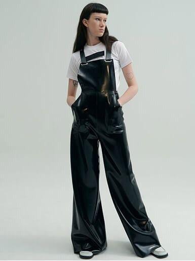 Latex overalls