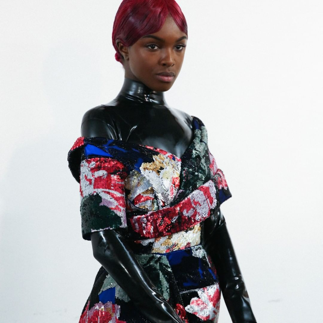 Black latex for catsuits