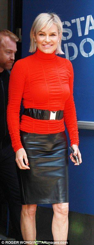 Black veggie leather pencil skirt