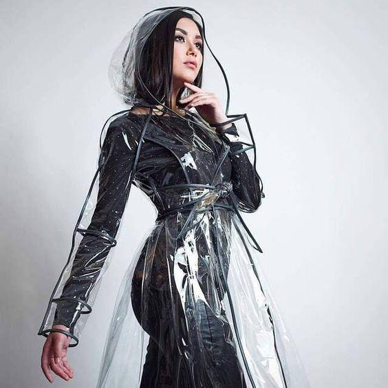 Clear vinyl coat
