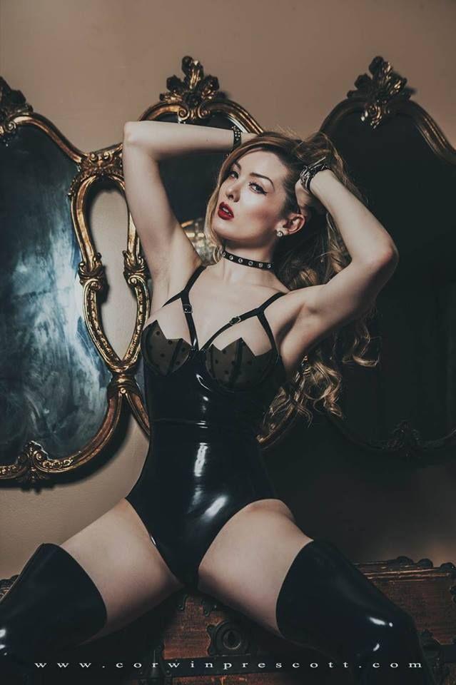 Latex lingerie pics