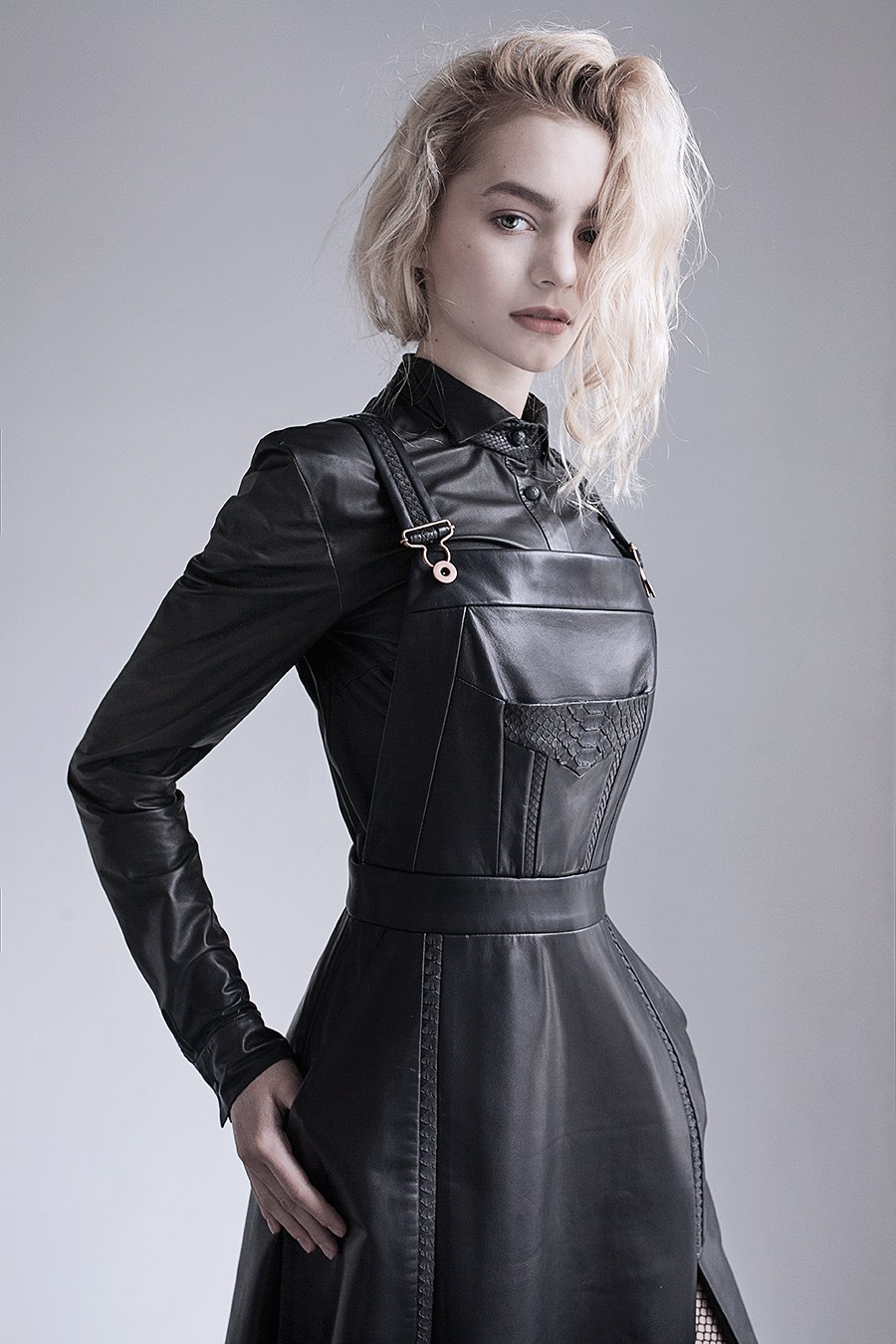 Image Of Leather Overalls Norwegian Style