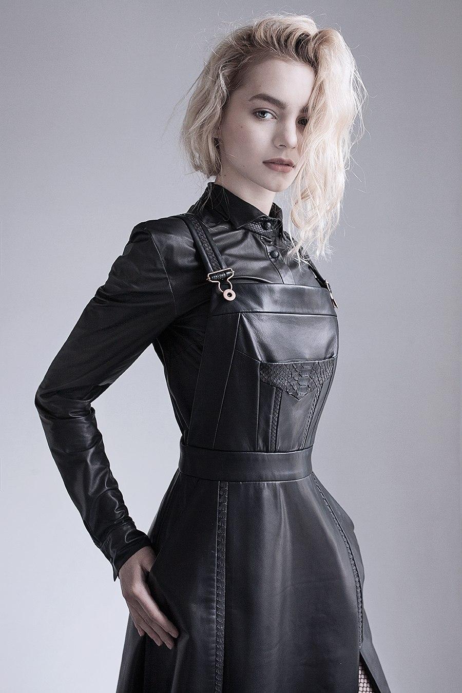 Leather Overalls Norwegian Style