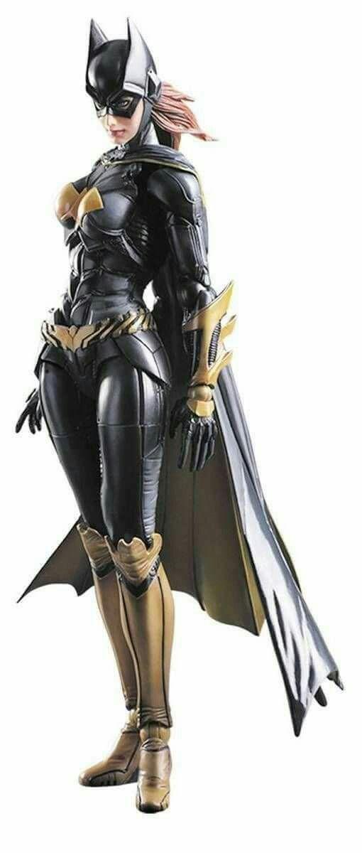 Faux leather Batgirl costume