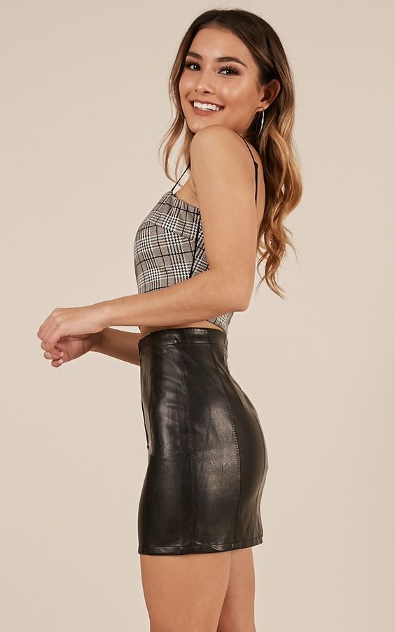 Faux leather for fashions