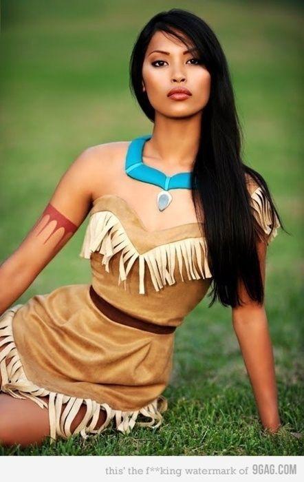 Pocahontas Halloween costume
