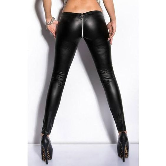 Flat black stretch spandex