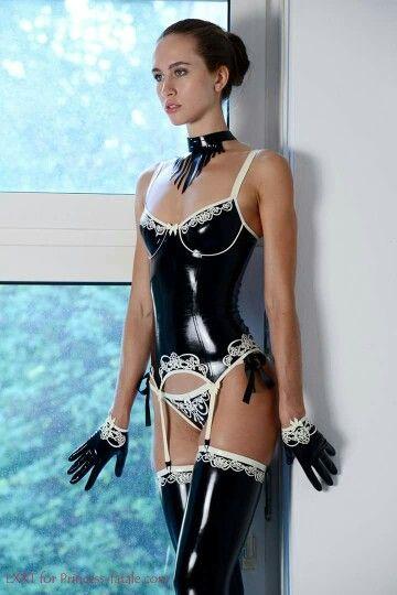 High-end latex lingerie