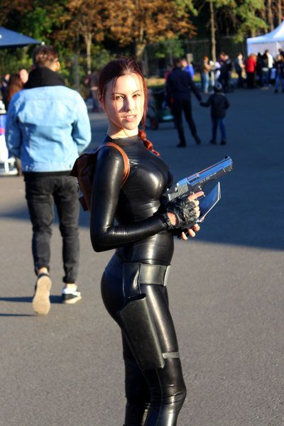 Lara Croft Latex