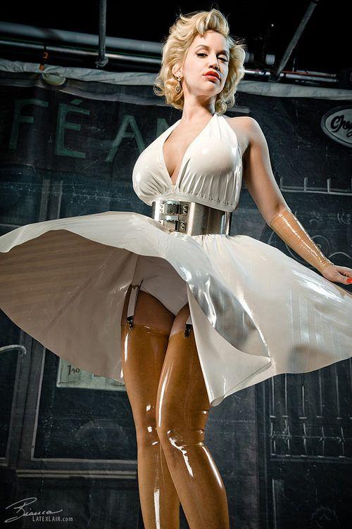 Latex Marilyn Monroe