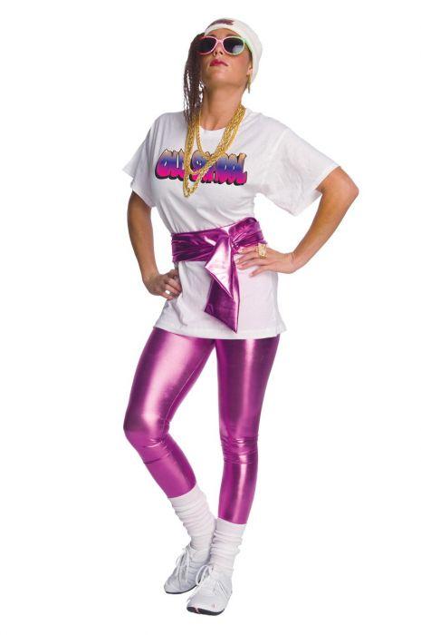 Purple metallic foil stretch fabric