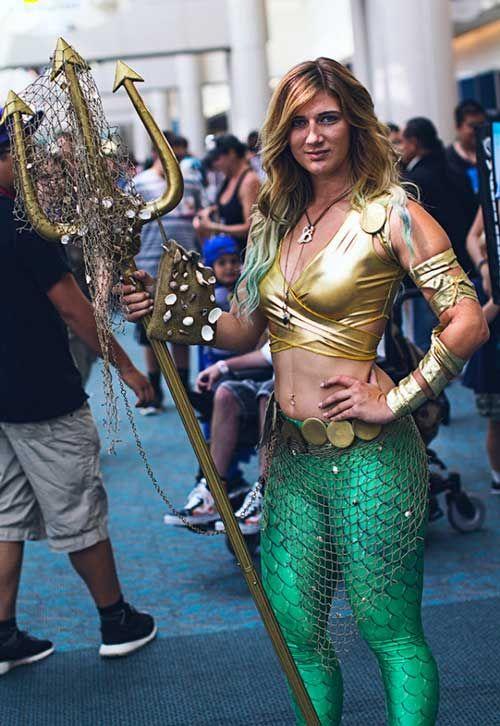 PVC Aquaman costume