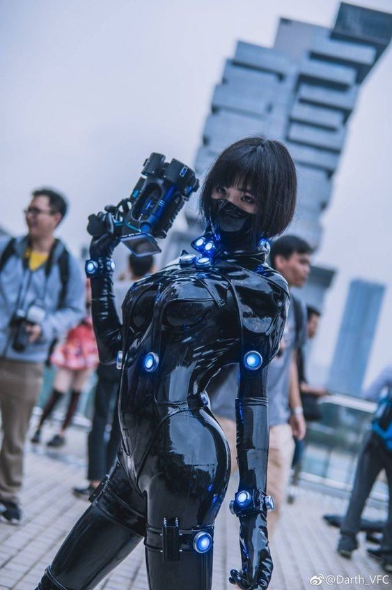 PVC female Genji cosplay