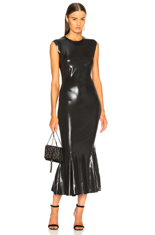 Shiny and elegant evening dress