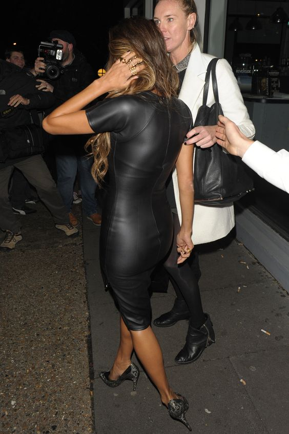 Stretch faux leather dress.jpg