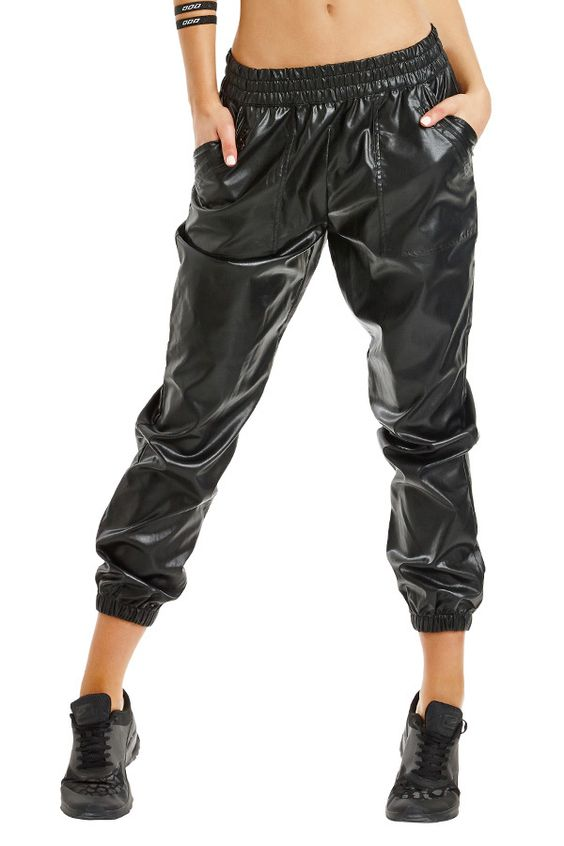 Vegan leather activewear