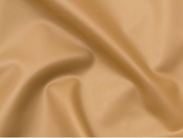 Metallic gold latex rubber material.