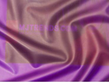 Purple semi-transparent latex sheeting.