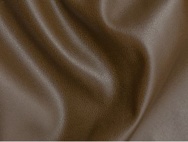 Brown faux leather fabric