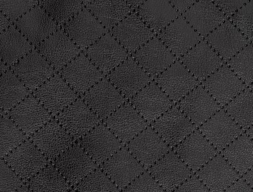 Laser Cut Faux Leather Material.