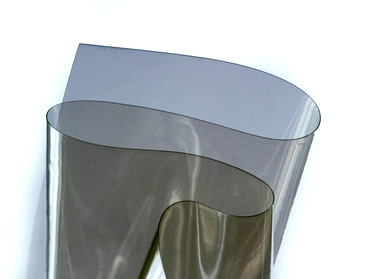 Olive military drab semi-transparent vinyl pvc material