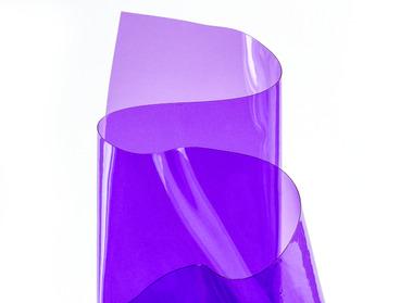Semi-transparent pvc vinyl sheeting.
