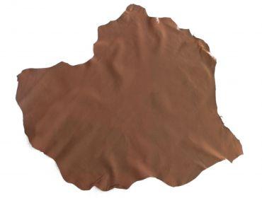 brown lambskin leather hide