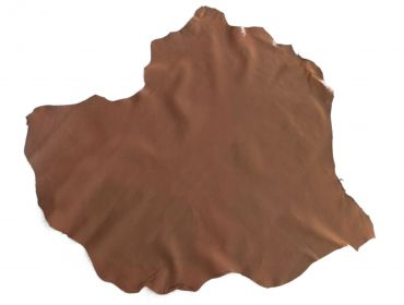 brown goat skin leather hide