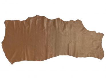 brown leather cowskin hide