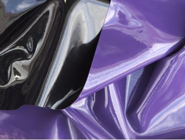 double sided black and purple latex with latex shine