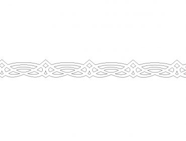 latex lace tribal one inch and a quarter