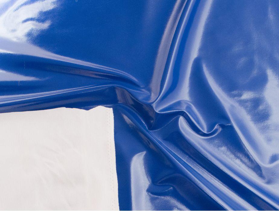 Mjtrends Royal Blue Vinyl Fabric