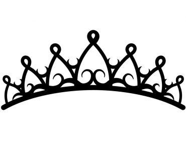 princess crown applique