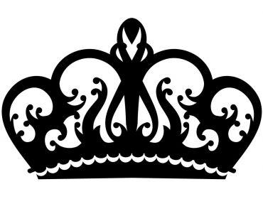queen crown applique