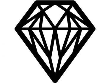 Diamond cosplay applique