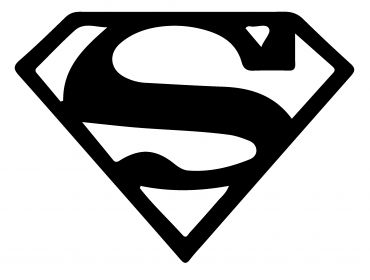 superman logo for cosplay