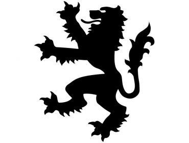 tiger coat of arms cosplay applique