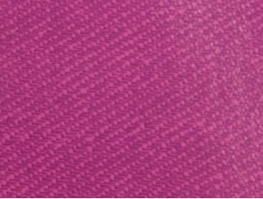 Macro shot of jean imprinted plum vinyl fabric.