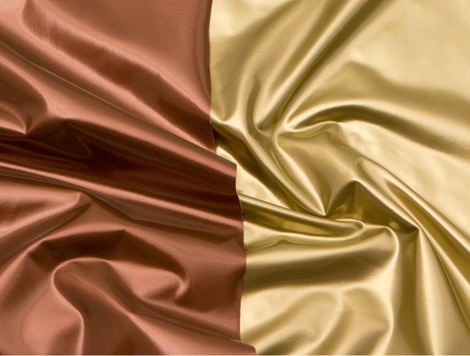 Metallic Gold Vinyl Fabric