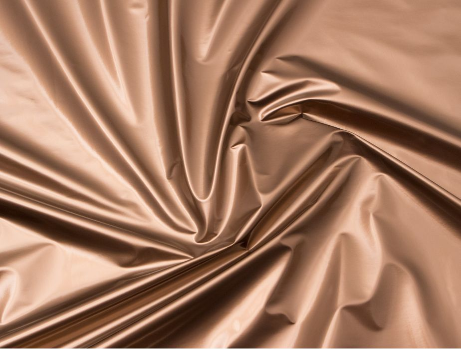 Mjtrends Metallic Bronze Vinyl Fabric