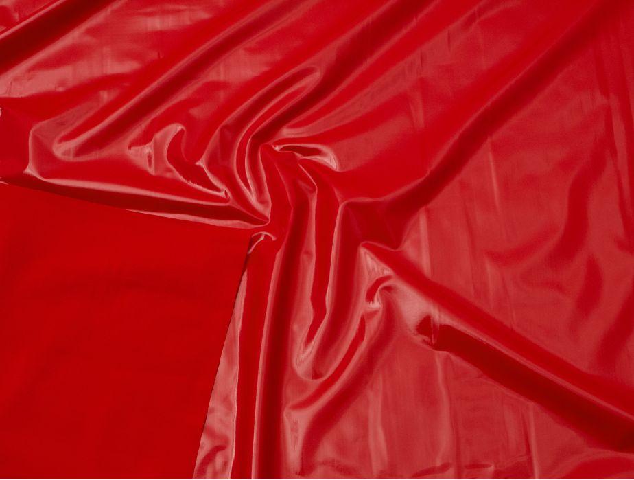Red Vinyl Fabric