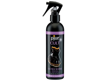 Pjur cult latex spray shine.
