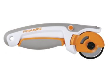 Fiskars 45mm ergo control deluxe rotary cutter.